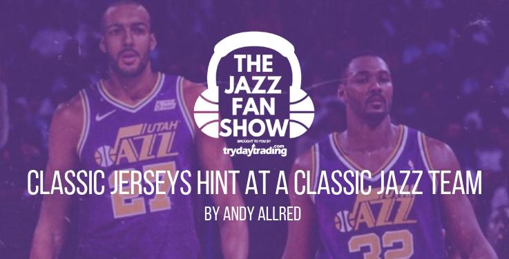 """b6f90b0e884a """"Classic"""" Jerseys Hint at a """"Classic"""" Utah Jazz Team"""